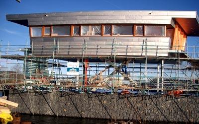 titanium brugwachtershuisje Amsterdam