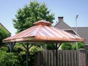 koperen BBQ-overkapping Limburg